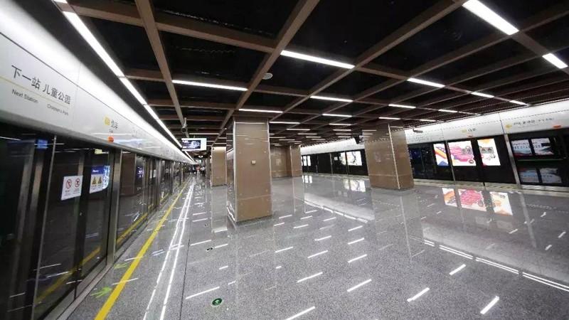 尚安防火玻璃应用于宁波地铁观察窗工程项目